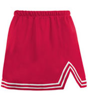 Custom Girls A-Line Cheer Skirt With V-Notch