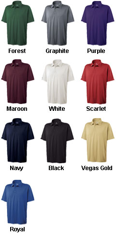 Mens Clubhouse Polo by Holloway - All Colors