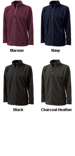 Boundary  Fleece Jacket by Charles River Apparel - All Colors