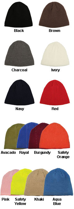 Big Bear Solid Color Eco Beanie - All Colors