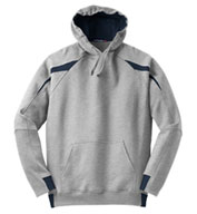 Adult Sport-Tek® - Color-Spliced Pullover Hooded Sweatshirt