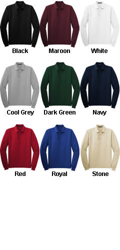 Long Sleeve Silk Touch� Sport Shirt - All Colors