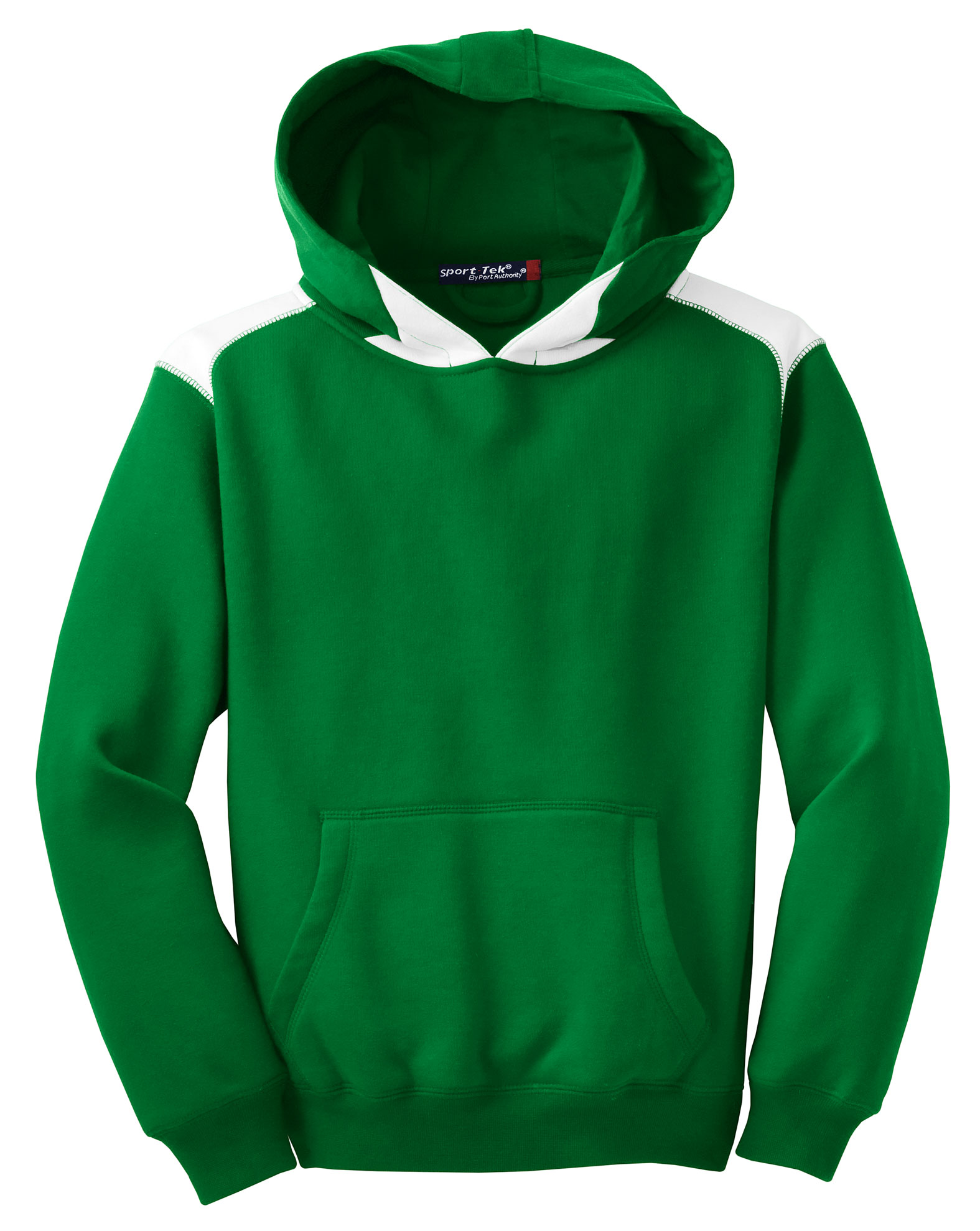 Sport-Tek� - Pullover Hooded Sweatshirt with Contrast Color