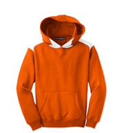 Custom Youth Sport-Tek® Contrast Color Pullover Hooded Sweatshirt