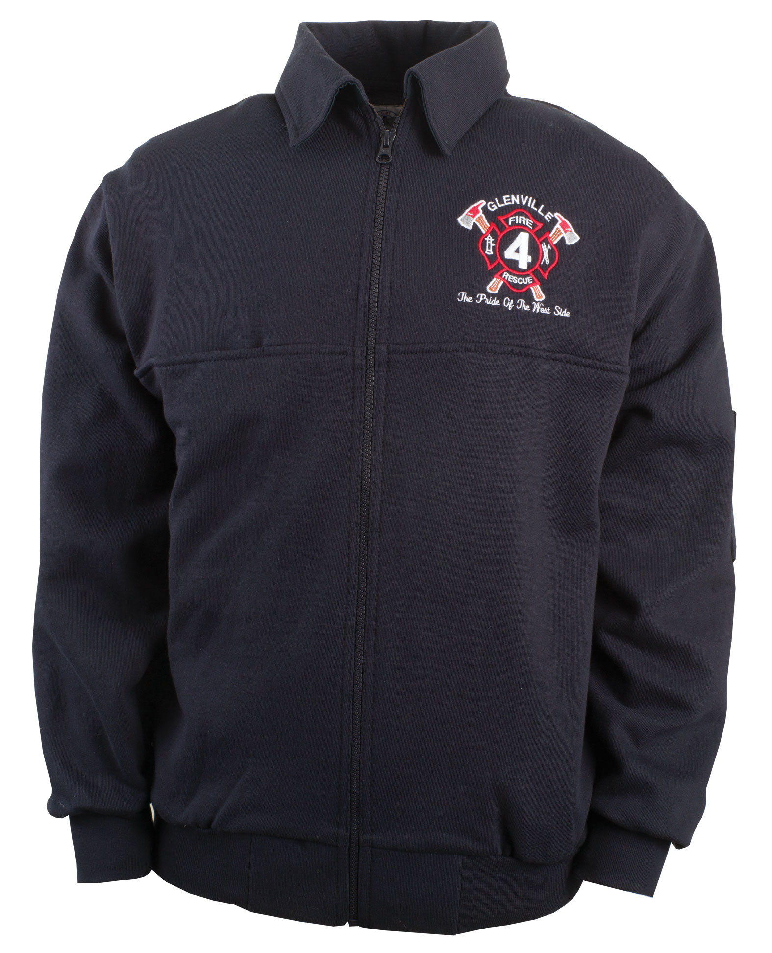 The Firefighters Full Zip Workshirt