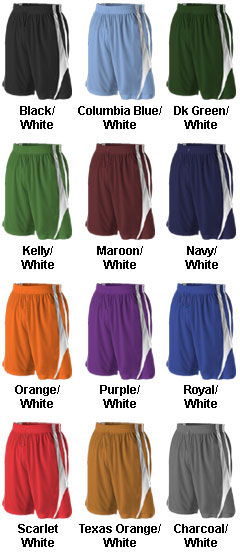 Reversible Basketball Short by Alleson - All Colors