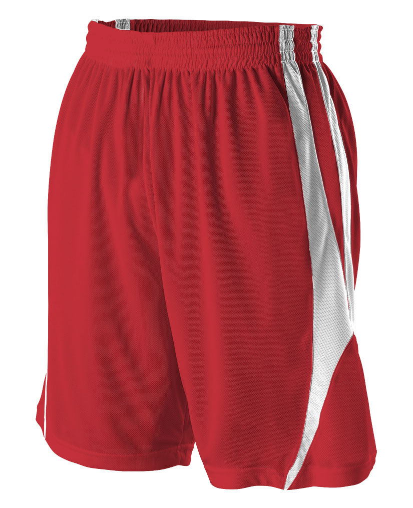 Reversible Basketball Short by Alleson