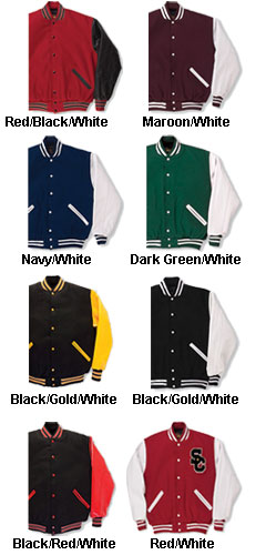 The JV Youth Varsity Jacket - All Colors
