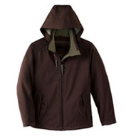 Custom Ladies Insulated Soft Shell Jacket With Detachable Hood
