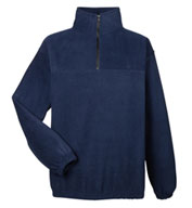UltraClub Unisex Iceberg Fleece 1/4 Zip Pullover