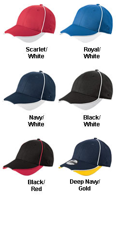 New Era� - Contrast Piped BP Performance Cap - All Colors