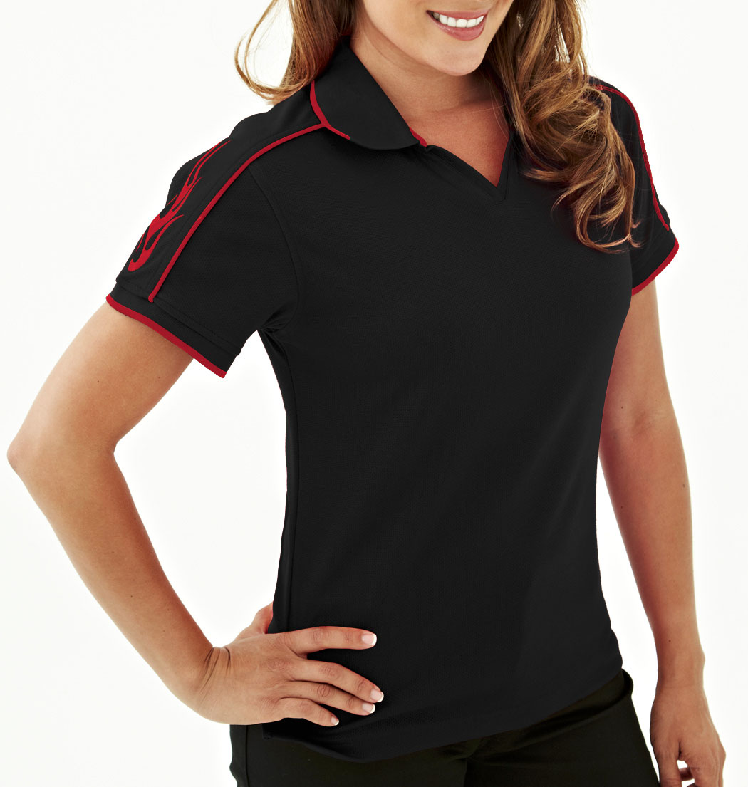 Tach Womens Racing Polo