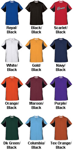 Adult Crossbow 2-Button Jersey - All Colors