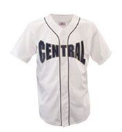 Youth Warning Track Piped Full Button Jersey