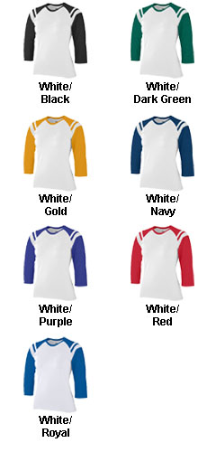Junior Fit Cotton/Spandex Legacy Tee - All Colors