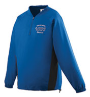 Custom Micro Poly Half-Zip Training Jacket Mens