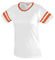 Junior Fit Cotton/Spandex Retro Camp Tee