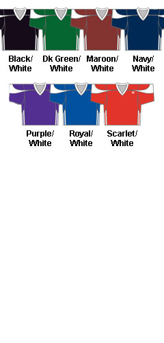 Mens Fusion Reversible Lacrosse Game/Practice Jersey - All Colors