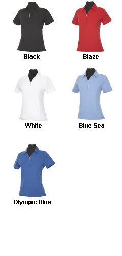 Ladies Dry Solid Polo - All Colors