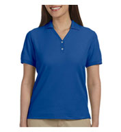 Ladies Pima Piqué Short-Sleeve Y-Collar Polo