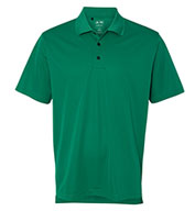 Adidas Golf Mens ClimaLite® Basic Performance Pique Polo