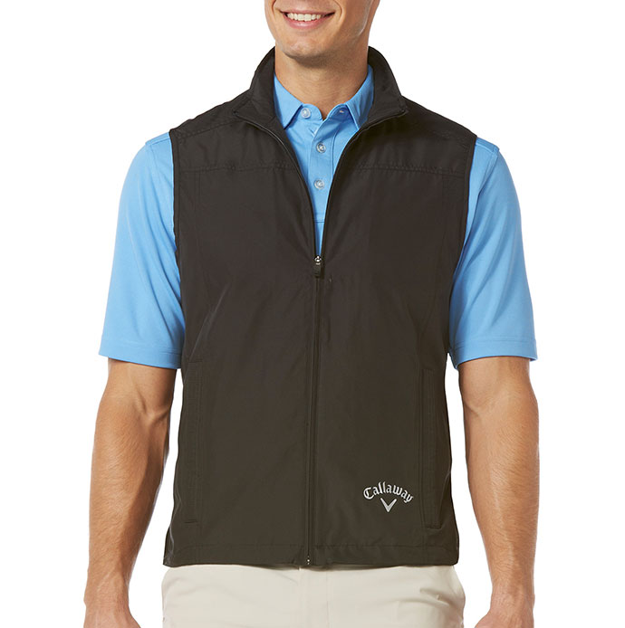 Micro Fiber Full Zip Vest by Callaway Golf