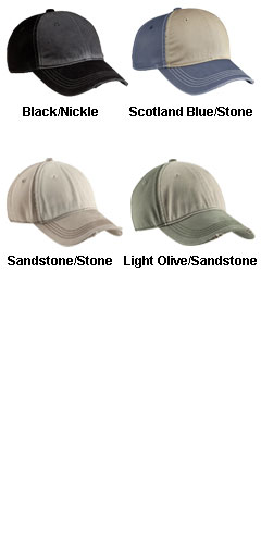 Distressed Contrast Cap - All Colors
