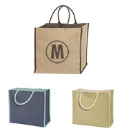 Super Jute Lined Tote Bag