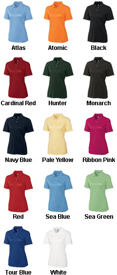 Womens CB Drytec� Elliott Bay Polo - All Colors
