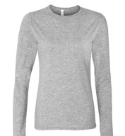 Gildan Adult SoftStyle Ladies Junior Fit Long Sleeve T-Shirt
