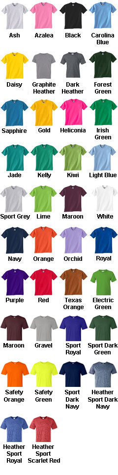 Gildan Youth 5.6 oz. DryBlend� 50/50 T-Shirt - All Colors