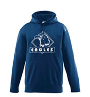Youth Wicking Fleece Hooded Sweatshirt