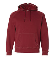 J. America Vintage Hooded Sweatshirt with Contrast Stitching