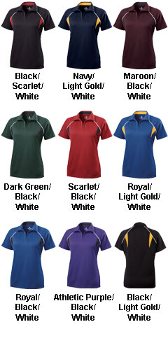 Ladies Vengeance Polo by Holloway USA - All Colors