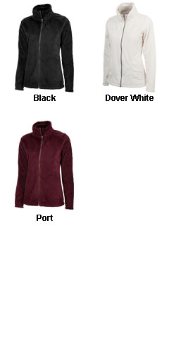 Womens Silken Fleece Jacket by Charles River Apparel - All Colors