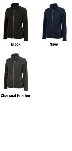 Womens Boundary Fleece Jacket  by Charles River Apparel - All Colors