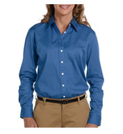 Chestnut Hill Ladies Long-Sleeve Twill Dress Shirt