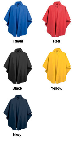 Adult Cyclone EVA Poncho by Charles River Apparel - All Colors