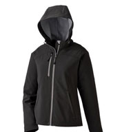 Custom Ladies Soft Shell Jacket With Hood