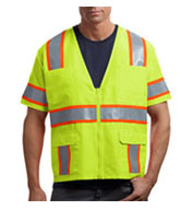 CornerStone ANSI-Class 3 Dual-Color Safety Vest