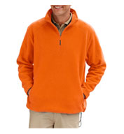 Custom Adult Polar Fleece Quarter Zip Pullover