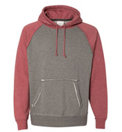 Custom J. America  Vintage Heather Hooded Sweatshirt