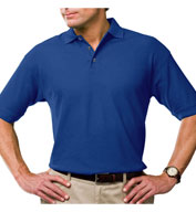 Custom Mens Moisture Wicking Polo with 3M Scotchgard Protection