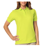 Custom Ladies ANSI Compliant, HI Vis Polo Shirt