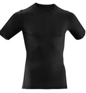 Custom Adult Compression Tech Short Sleeve Shirt Mens