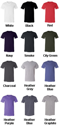 Anvil Soft Spun Fashion Fit V-Neck T-Shirt - All Colors