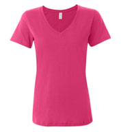 Anvil Ladies Sheer V-Neck T-Shirt
