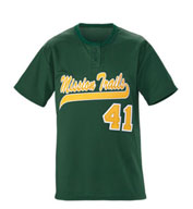 Youth Slugger Solid 2-Button Baseball Jersey