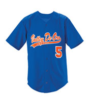 Custom Youth Trailblazer Faux Full Button Baseball Jersey