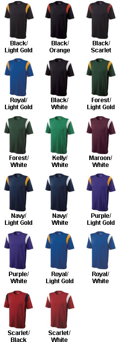 Adult Rush Fan Jersey - All Colors